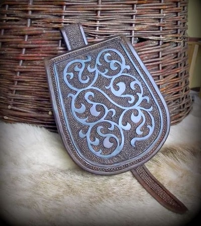 Slavic - Viking Hand Made Belt Bag