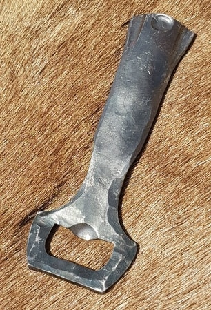 BEER OPENER, forged, flat