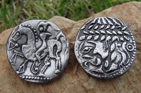 CELTIC TETRADRACHM, central Europe, replica