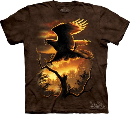 GOLDEN EAGLE, The Mountain, t-shirt
