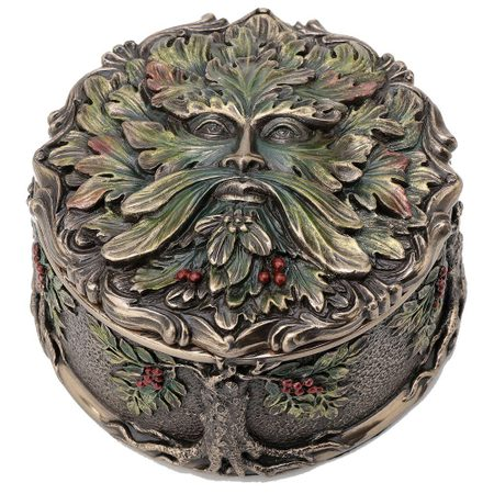 FATHER OF THE FOREST TREE SPIRIT GREEN MAN BOX