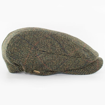 KERRY CAP - Green, wool, Ireland
