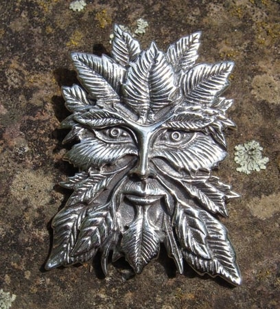 SILVER GREEN MAN, big - DPT-002