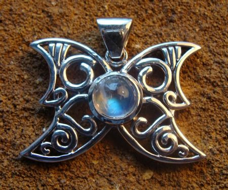 RAINBOW MOONSTONE BUTTERFLY - PT-3333