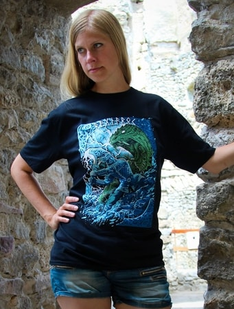 RAGNARÖK, VIKING T-SHIRT, COLORED, WOMEN'S