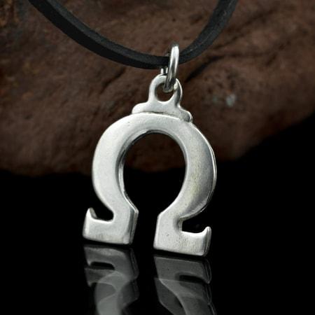 Omega pendant silver greek alphabet wulflund omega pendant silver greek alphabet mozeypictures Choice Image