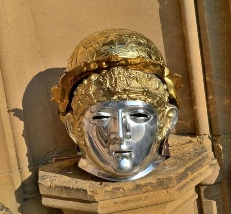 Roman Cavalry Face Helmet Wulflund Com