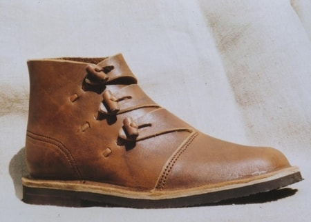 VIKING LEATHER BOOTS - HEDEBY