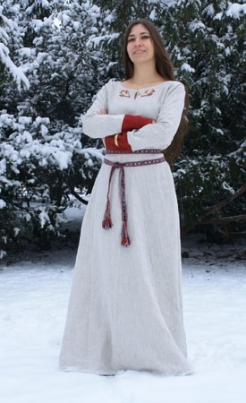 EARLY MEDIEVAL DRESS, LINEN