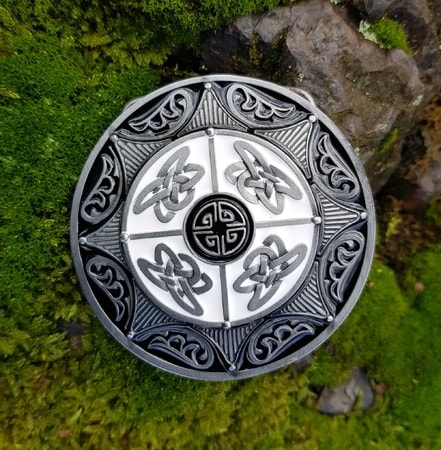 VIKING SHIELD, Belt Buckle
