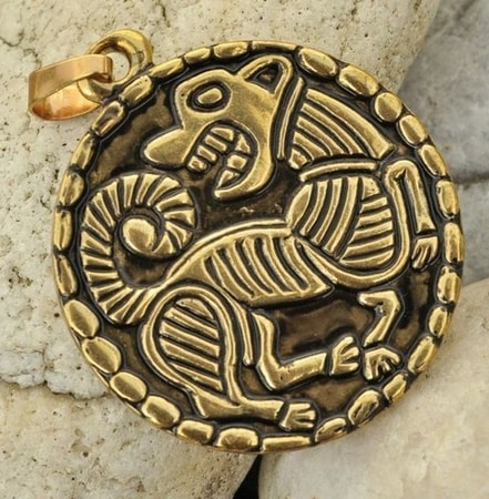 VIKING DOG TALISMAN
