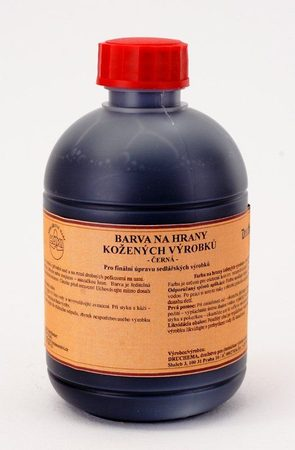 BLACK EDGE DYE for leather, 300 ml