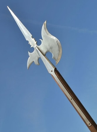 HALBERD I, replica of a pole weapon