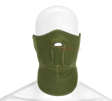 Neoprene Face Protector, green