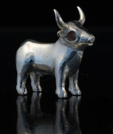 Celtic Bull from Bull Rock Cave figure