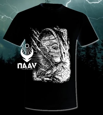 VICTORY or VALHALLA, Viking T-shirt, men's