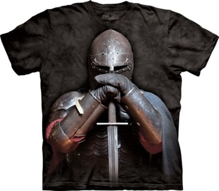 Medieval Knight T Shirt The Mountain Usa Wulflund Com