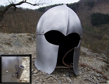 Medieval Helmets for Re-enactment - Wulflund Armoury - wulflund com