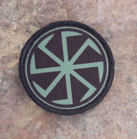 KOLOVRAT, SLAVIC VELCRO PATCH