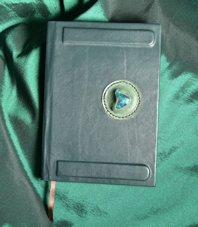 SERPENTIN, luxury hand made book in leather case