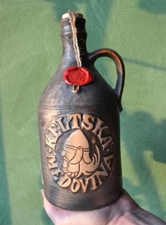 CELTIC MEAD 0,75 l, ceramic bottle - wulflund.com