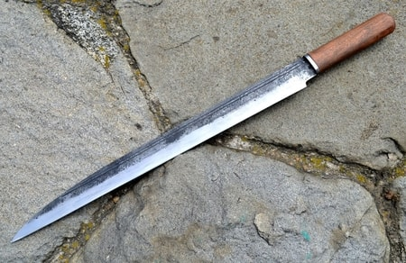 SEAX, viking long knife, replica from Haithabu