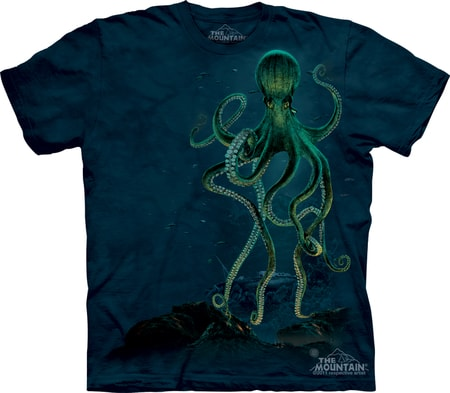 Octopus Cthulhu, The Mountain, t-shirt