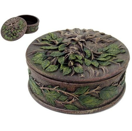 GREENMAN, round box