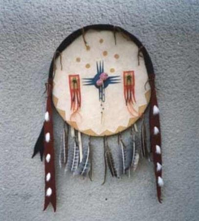 Indian Dancing Shield Native Americans Wulflund Com