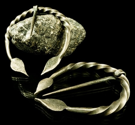 Penannular Brooch - leaves