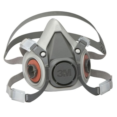 3M REUSABLE HALF FACE MASK RESPIRATOR 6300