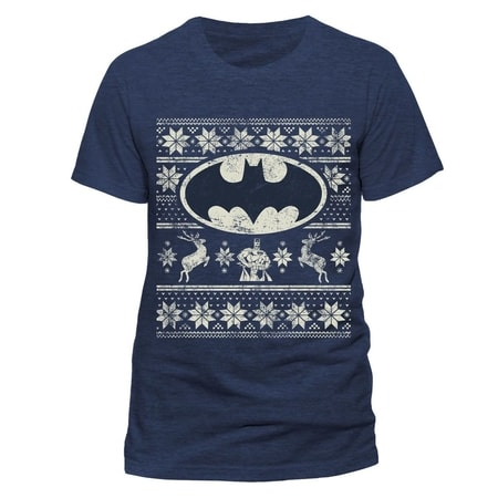 Batman - Fair Isle Logo