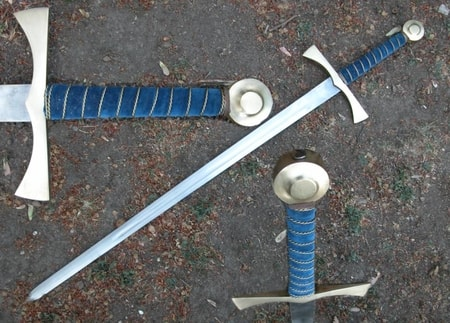SWORD OF THE KING - hand and a half - Battle Ready Live Action Swords