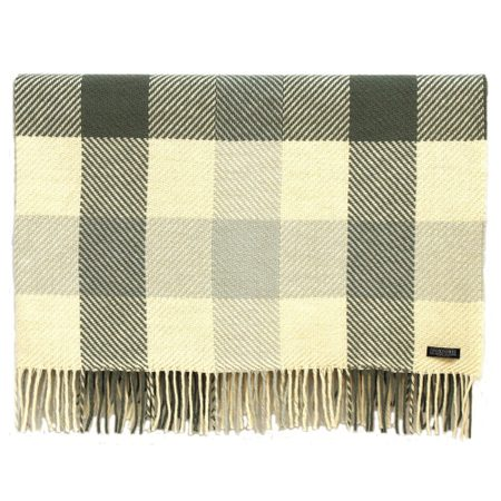 Dublin Check, merino wool blanket