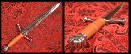LANDSKNECHT DAGGER, sharp replica