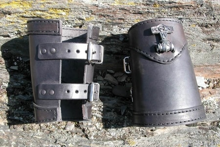THORHAMMER - BRACERS - LARP and METALWEAR