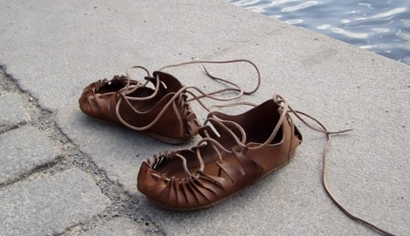 Celtic Leather Shoes