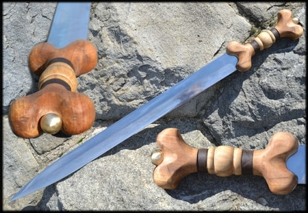 CELTIC SWORD, LA TENE, REPLICA OF THE SWORD FROM THE IRON AGE