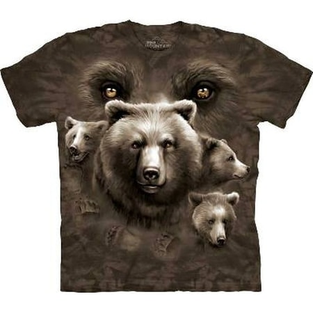 Bear Eyes, The Mountain, t-shirt