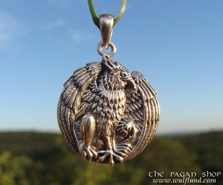 GRYPHON PENDANT, silver 925