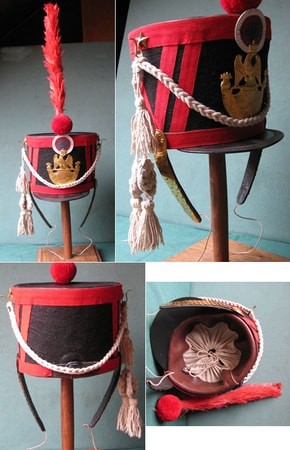 Shako, French Military Cap, Grenadier