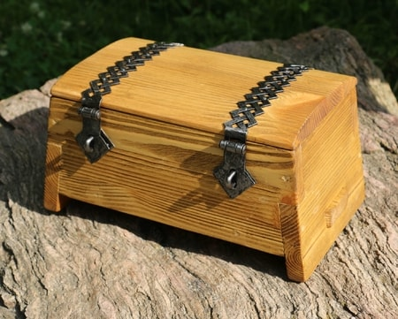 Medieval Wooden Chest - Dante, small