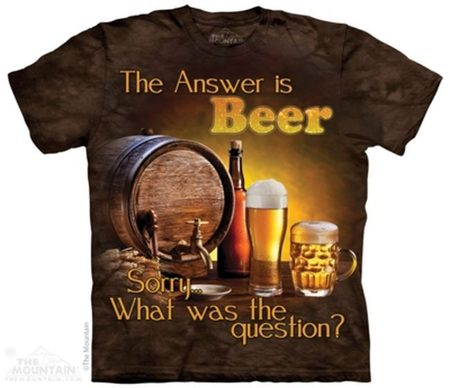 Beer Outside - Drink T-Shirt The Mountain