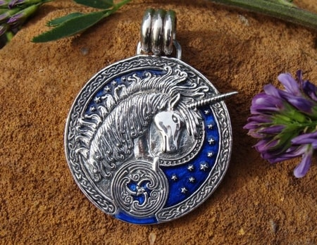CELTIC UNICORN, midnight blue