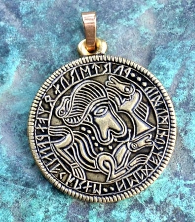 ABSTRACT VIKING BRACTEATE