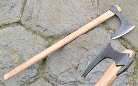 Axes Forged War Hammers Pole Weapons And Maces