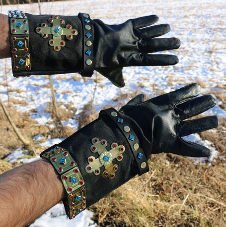 PORTHOS, leather gloves