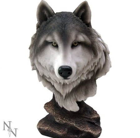 WOLF'S HEAD, FIGURINE