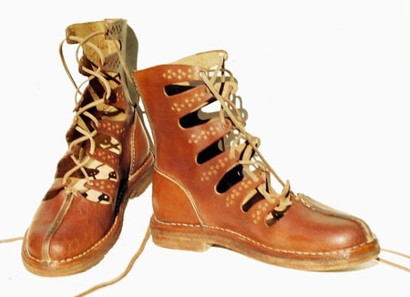 GALLIC SHOES, celtic higher boots