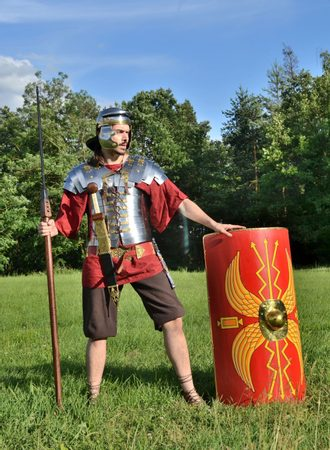ROMAN LEGIONARY, COSTUME RENTAL